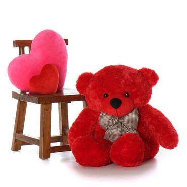 38in Bitsy Cuddles Red Teddy Bear  Best gift ever!