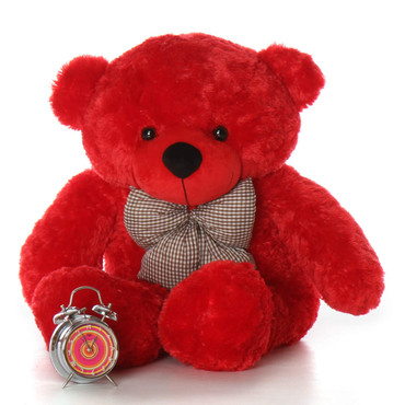 38in Huge huggable Red Teddy Bear Bitsy Cuddles Perfect plush Gift