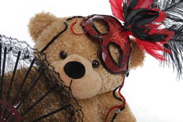 Masked Halloween Teddy Bear
