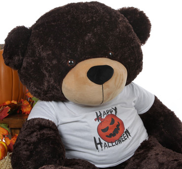 Giant Teddy Super Soft 5 Foot Halloween Teddy Bear