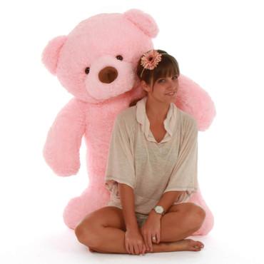 48in pink teddy bear Gigi Chubs