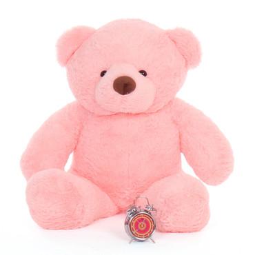 Big Pink Teddy Bear Gigi Chubs huggable gift 48in