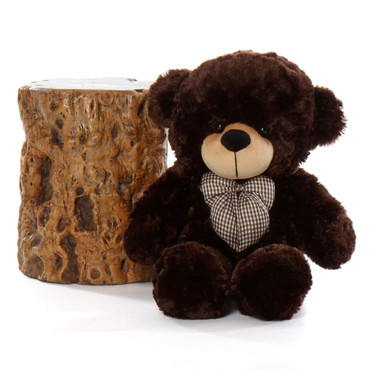 30in Brownie Cuddles Chocolate Brown Teddy Bear
