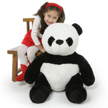 Adorable 3 feet stuffed Panda Bear
