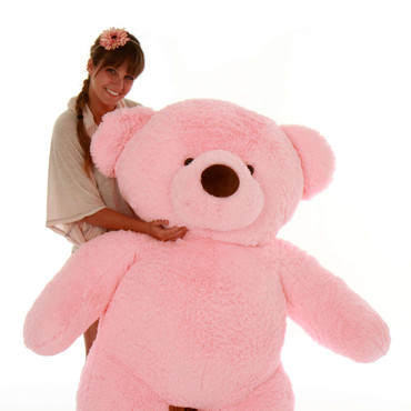 Giant Pink Teddy Bear - Valentine's Day Gift