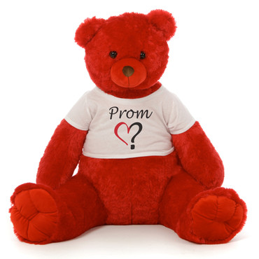 3½ ft Scarlet Tubs Cuddly Red Prom Teddy Bear (Prom ?)