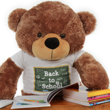 Super Soft Huge Back to School Teddy Bear by Giant Teddy Brand