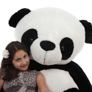 Super Soft Giant Panda Bear by Giant Teddy Brand
