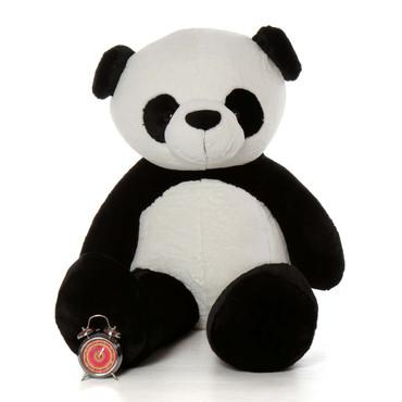 Huge 5 Foot Life Size Stuffed Panda Teddy Bear