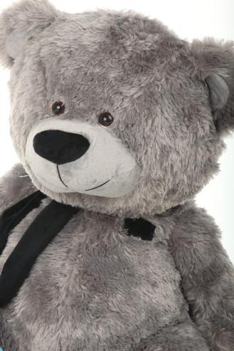 Super Cute Teddy Bear with Black Scarf