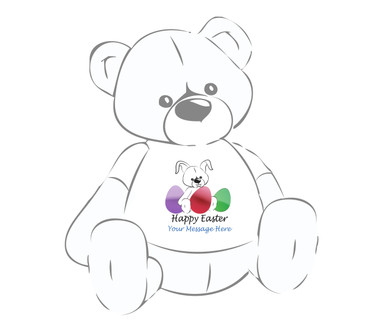 Personalized Happy Easter Giant Teddy Bear shirt