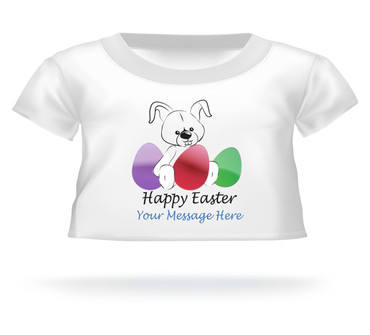 Happy Easter Giant Teddy Personalized Bear shirt