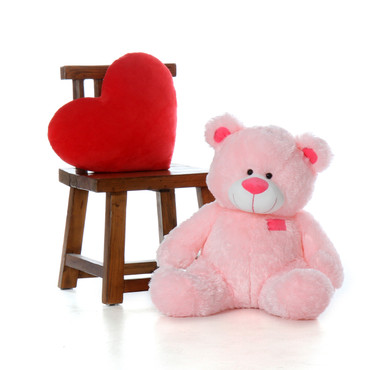 Super Soft Sitting Position 27 Inch Huggable Big Teddy Bear