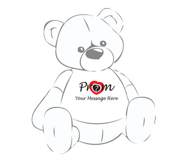 Ask your date to prom Personalized Giant Teddy Bear