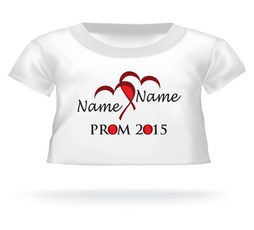 Personalized Teddy Bear Shirt Prom 2015