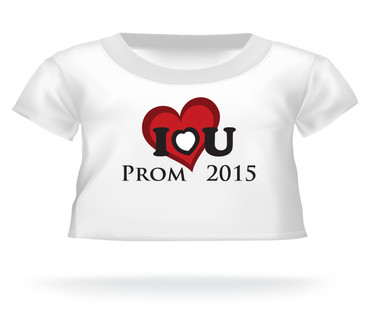 I love you Prom 2015 Giant Teddy Bear T-shirt