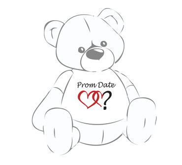 Prom Date? Giant Teddy Bear shirt