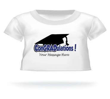Personalized ConGRADulations Giant Teddy bear shirt