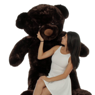 6ft Life Size Giant Teddy Bear Dark Brown Munchkin Chubs