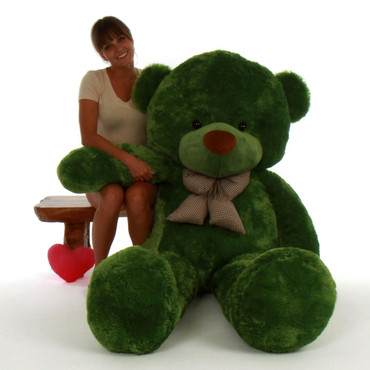 6ft Green lucky Best selling teddy Life Size bear cuddly Giant and biggest  bear