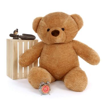 Big Amber Teddy Bear Cutie Chubs 48in
