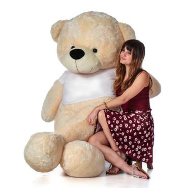 72 in Super Soft Giant Cream Teddy Bear gift