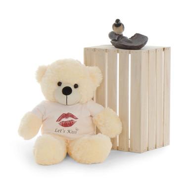 24 in cute Huggable Cream fluffy Teddy Bear