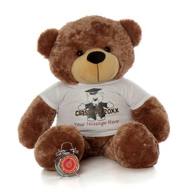 Huge 48in Class of 2019 Personalized Graduation teddy bear