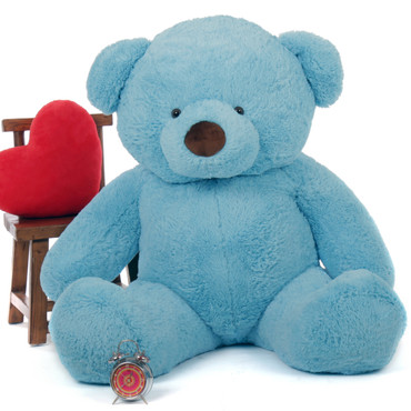 Big Blue Teddy Bear Sammy Chubs 60in