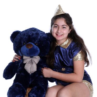 Soft and Huggable Royce Cuddles 30in Teddy Bear