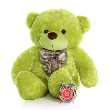 3.5 foot  Light Green Big plush Teddy Bear