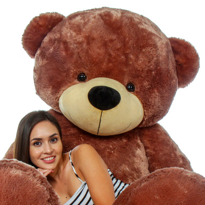 The BIGGEST Teddy Bear - 84 inch tall Cuddles