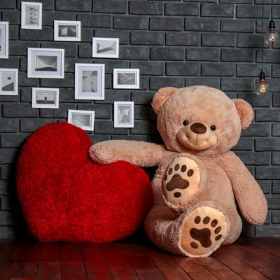 World's Biggest Teddy Bear! 7 Foot Teddy & Hugs With an Enormous 4 Foot Heart!