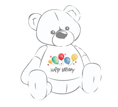 Happy Birthday Teddy Bear Shirt