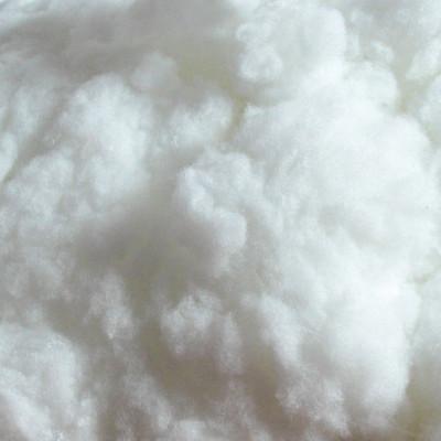 Close-up White Polyester Fiber