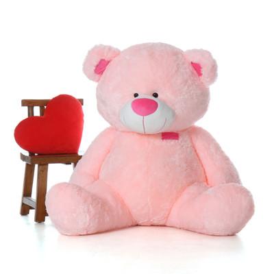 5 Foot Super Soft Giant Pink Teddy Bear