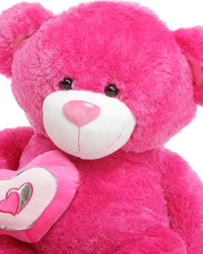 Huge Hot Pink Teddy Bear ChaCha Big Love