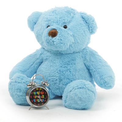 Sammy Chubs Blue 2 Ft Teddy Bear