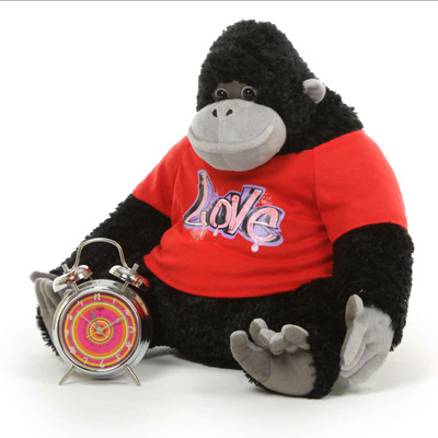 According to Myth, one big stuffed gorilla hug from Lil Adonis will melt your heart!