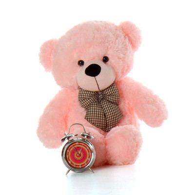 Lady Cuddles 30 Super Soft Huggable, Pink Giant Teddy Plush Bear