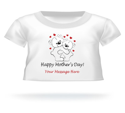 Personalized Happy Mother's Day Giant Teddy Bear shirt