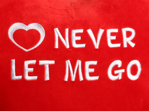 Never Let Me Go Heart Design (Close Up)