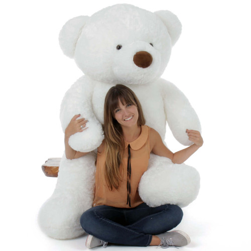 5 Foot Huge Teddy Bear White Birthday Gift