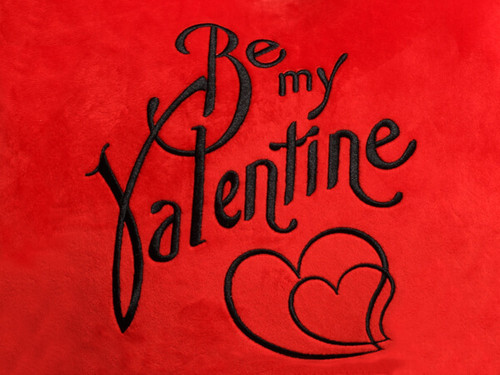 Be my Valentine Heart Design (Close Up)