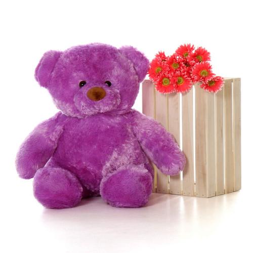 3ft Lila Chubs Giant Teddy Bear