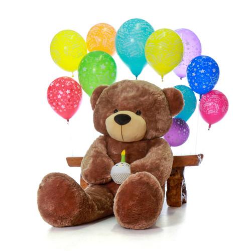 Giant 5 Foot Brown Teddy Bear - Birthday Present