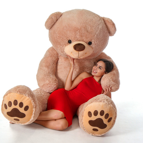 Beyond Life Size Teddy & Hugs 7 foot Tall Teddy Bear
