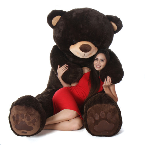7 Foot Biggest Teddy Bear Chocolate Brown - Valentine's Day Gift