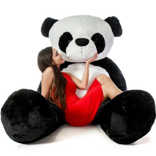 Life Size Panda Teddy Bear 7 Foot Stuffed Animal Toy