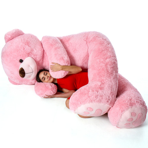 Giant Pink 7 Foot Teddy Bear by Giant Teddy Brand - Premium Quality